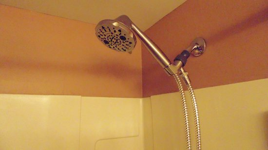 The Academy Hotel Colorado Springs: Handheld Adj Showerheads