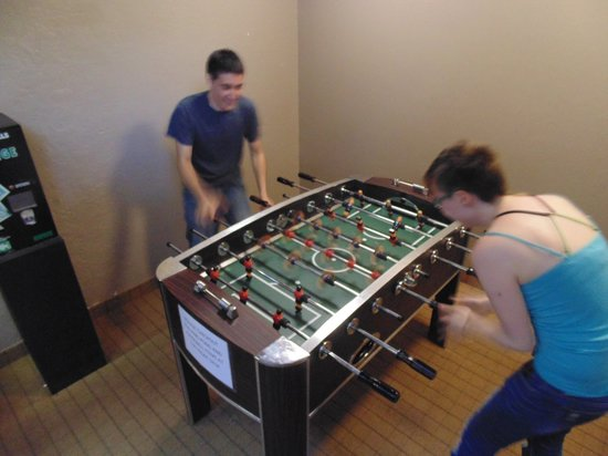 The Academy Hotel Colorado Springs: Complimentary Foosball & Ping Pong