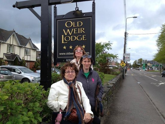 Old Weir Lodge: Wonderful visit