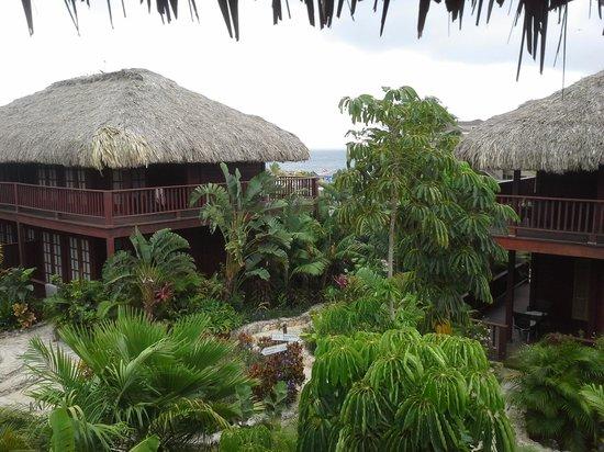 Van der Valk Kontiki Beach Resort: vue de la terrasse