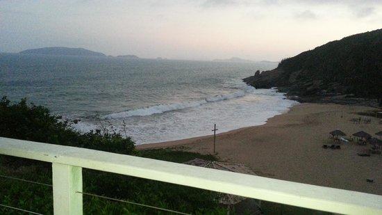 Hotel Mandragora: vista do mar da suite