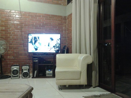 Hostel Bambu : Sala de convivência.