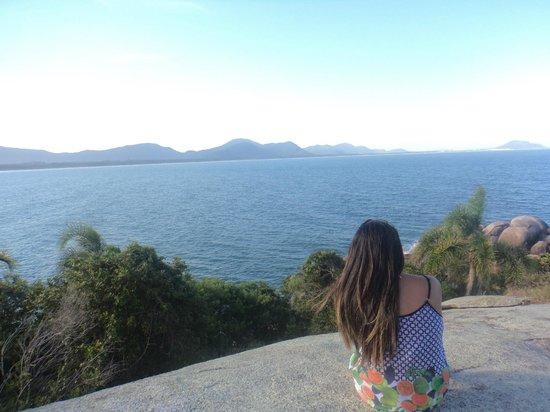 Barra da Lagoa Beach: Bela vista!