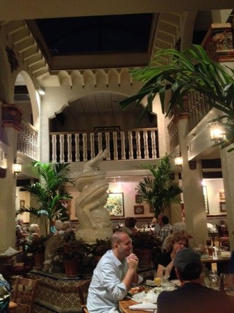 Columbia Restaurant : Spanish Atmosphere