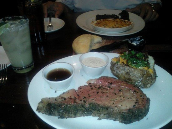 Firebirds Wood Fired Grill: Prime rib with Margarita