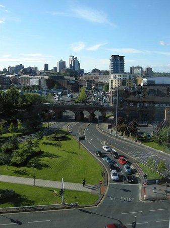 Hotel ibis budget Leeds Centre: Vue depuis le palier 8ème étage