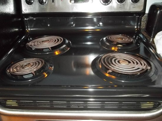 Oceans One Resort : Stove eyes not even in the down position