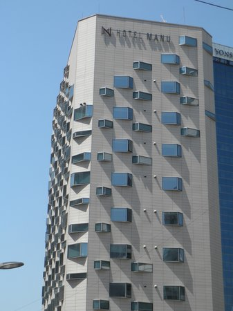 Hotel Manu Seoul: 建物