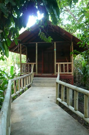 Pachira Lodge: One of the single bungalows