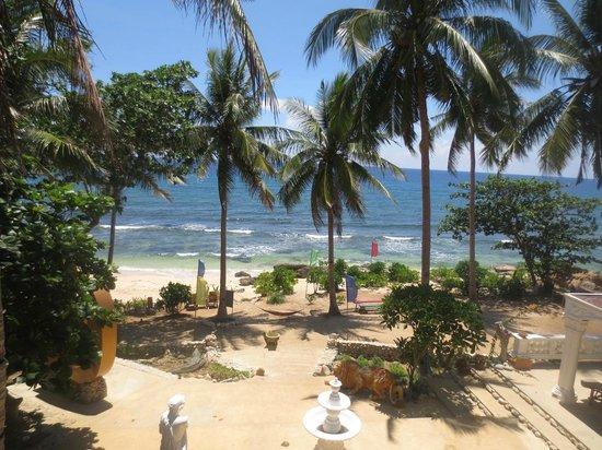 G Beach Resort Balcony Area