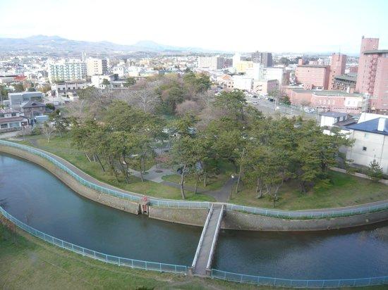 Heiseikan Kaiyotei : 廊下窓からの眺め