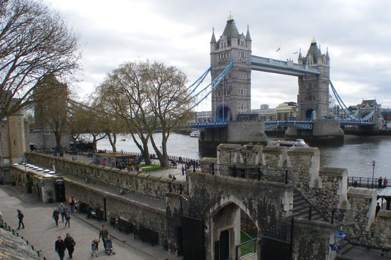 Puente Tower Bridge: View from the Tower of London