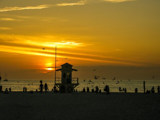Clearwater Beach: Clearwater sunset