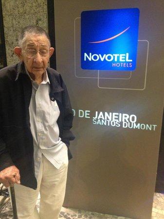 Novotel RJ Santos Dumont: Entrada do Hotel