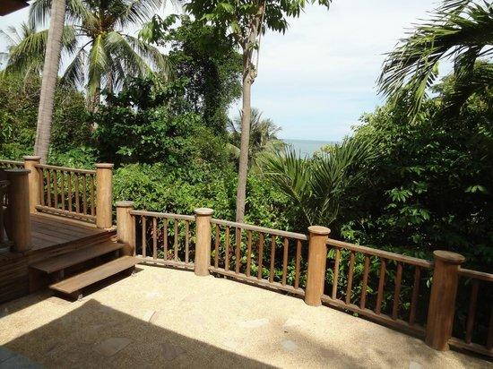 Santhiya Koh Phangan Resort & Spa: View from our Sea View Villa - #507