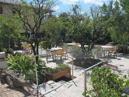 Freehand Miami: Patio next to pool