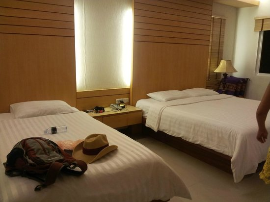 Patong Terrace Boutique Hotel : Our room