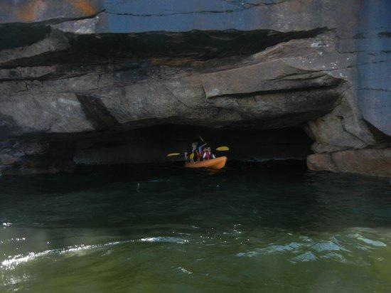 Lost Creek Adventures: Roman's Point sea caves