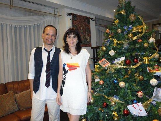 Cala di Volpe Boutique Hotel: Natal de 2013 - no lobby do hotel