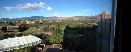 Colorado Springs Marriott : view from bedroom suite