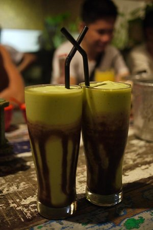Naughty Nuri's: Rich and creamy avocado juice