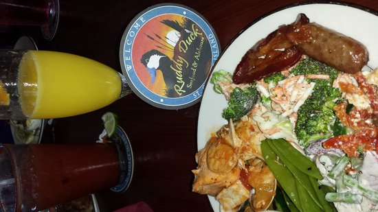 The Ruddy Duck Seafood & Alehouse: Yummy food!