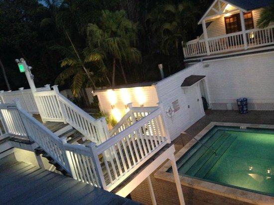 NYAH Key West: balcony from room