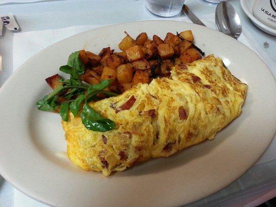 La Isla Restaurant: Good morning indeed