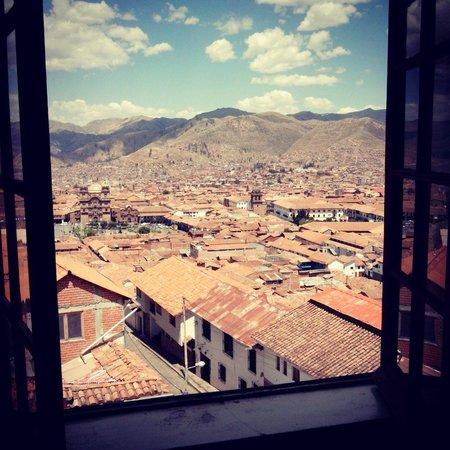Don Bosco Hotel: Una vista increíble desde la habitación, recomiendo esta habitación.
