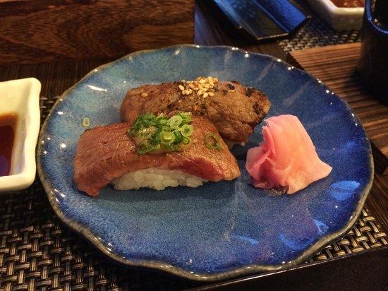 Kozantei Ubuya: Kusho Wagyu Beef Sushi