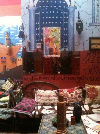 Hostel Riad Marrakech Rouge: Mélange de couleurs