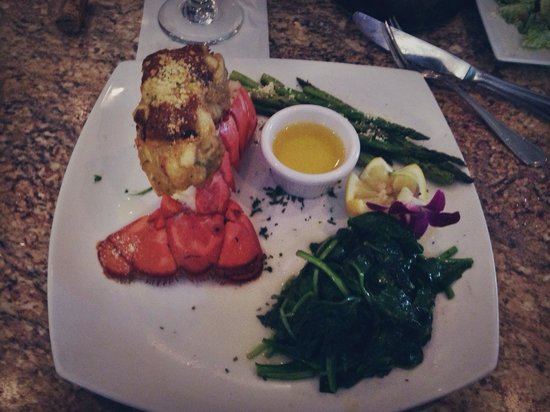 Lobster Lady Seafood Market & Bistro: My lobster dinner! Delicious!