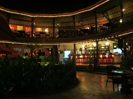 Taman Restaurant: the view