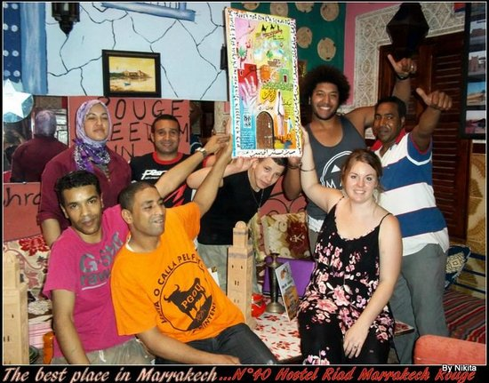 Hostel Riad Marrakech Rouge : THE TEAM