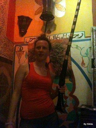 Hostel Riad Marrakech Rouge : Fantasia