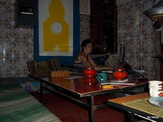 Hostel Riad Marrakech Rouge : Connexion internet