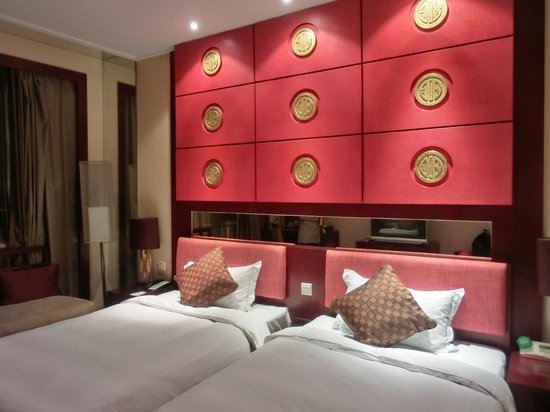 Soluxe Shazhou Hotel: Twin room