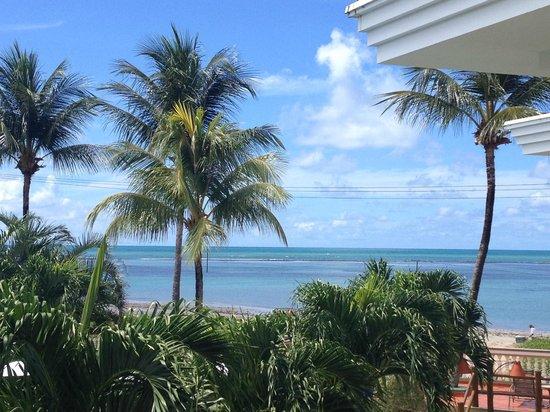 Hotel Coral Beach: Vista do quarto - Praia de Tamandaré