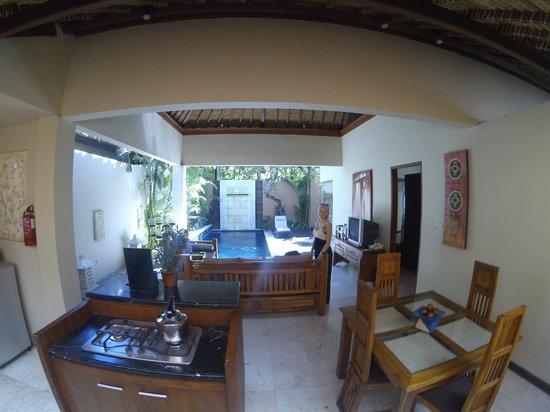 Bhavana Private Villas: Pool Area