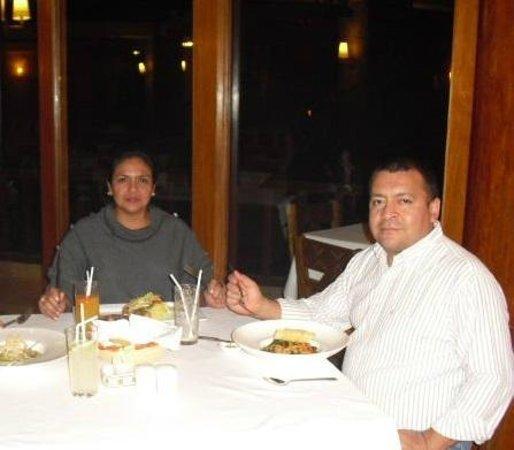 SUMAQ Machu Picchu Hotel: Hora de la cena