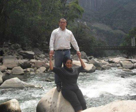 SUMAQ Machu Picchu Hotel: En el rio frente al hotel