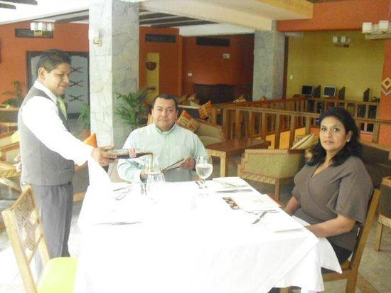 SUMAQ Machu Picchu Hotel: Hora del almuerzo
