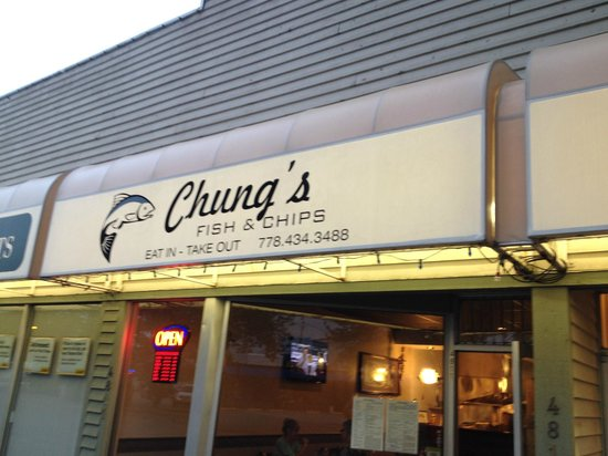 Chung's Fish & Chips: Chung's on Delta Street