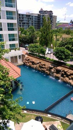 Centara Pattaya Hotel: Вид из номера