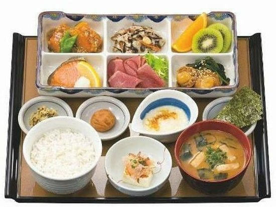 Daiwa Roynet Hotel Osaka Uehonmachi : ロイネット御膳 800円 (07:00-10:00・1F)