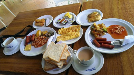 Pangkor Sandy Beach Resort : Breakfast :)