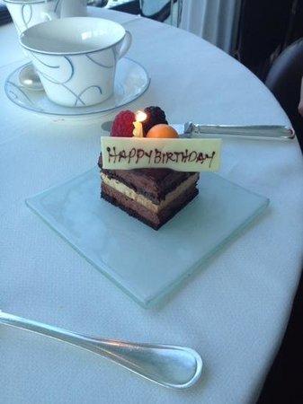 Skyview Bar : birthday treat