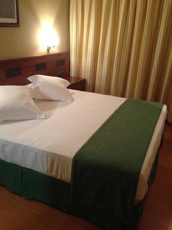 Gran Hotel Liber & Spa: Nuestra habitacion a la llegada