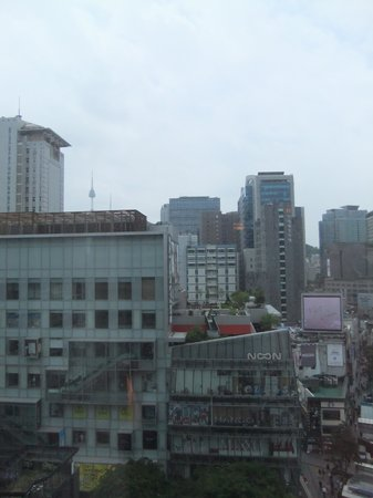 ibis Ambassador Seoul Myeongdong: N Seoul Tower can be seen from room