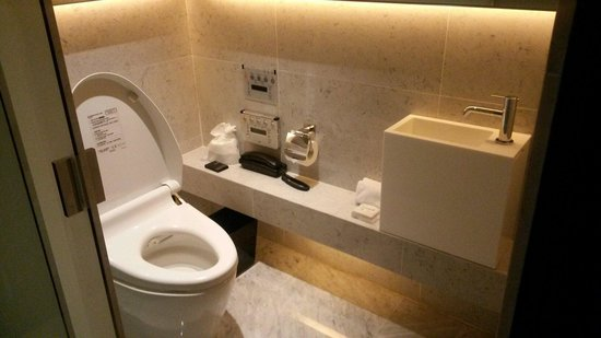 Le Meridien Taipei: Nice toilet seperate from the shower and sink area.